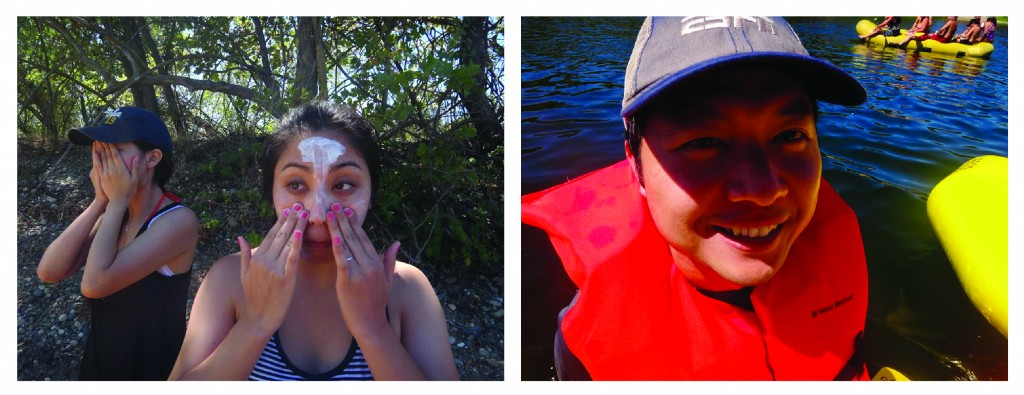 Rafting close-ups