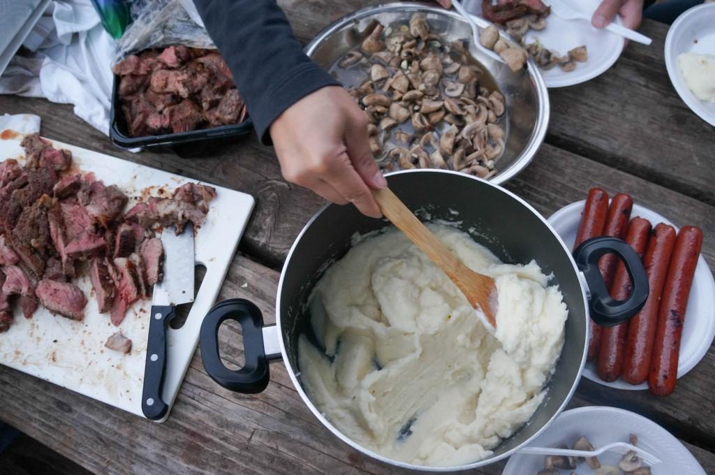 Camping food!