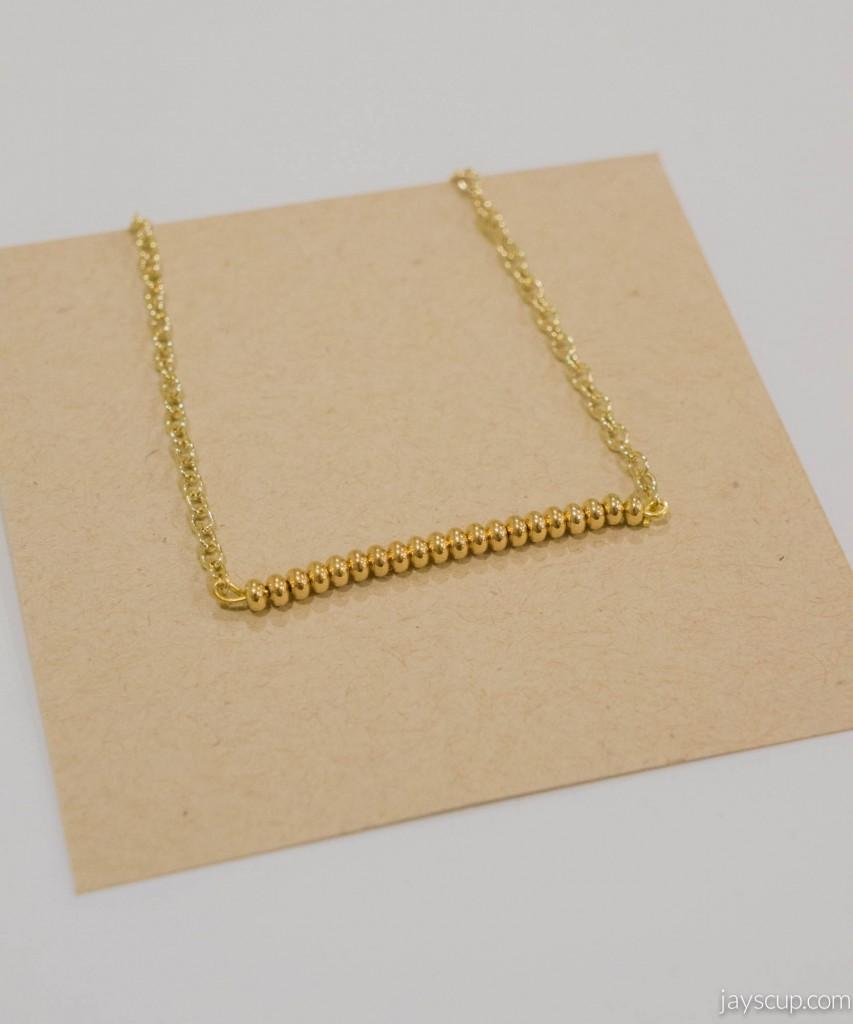 Beaded Dainty Necklace