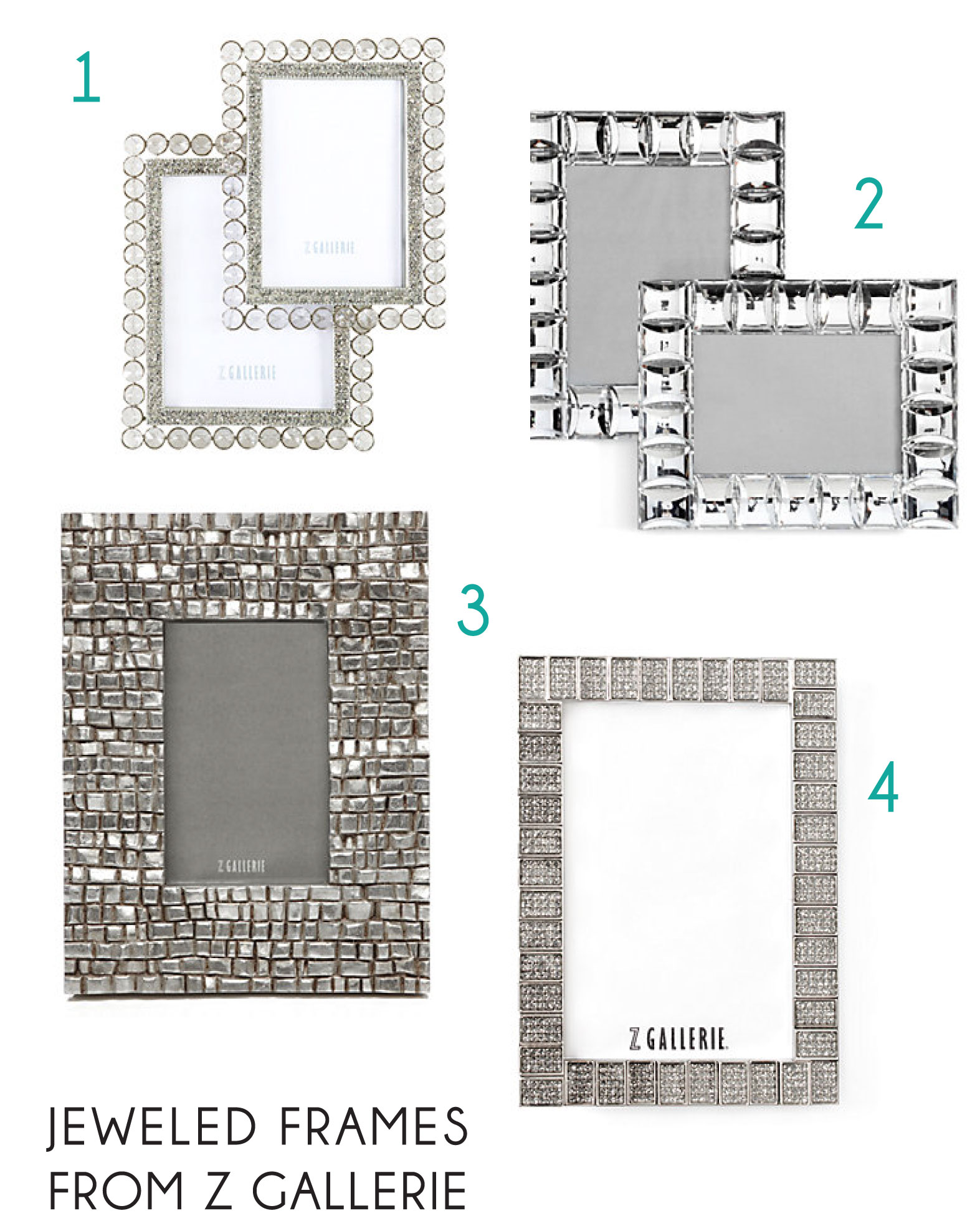 Ideal DIY: Jeweled Frames | Jay's Cup LE18
