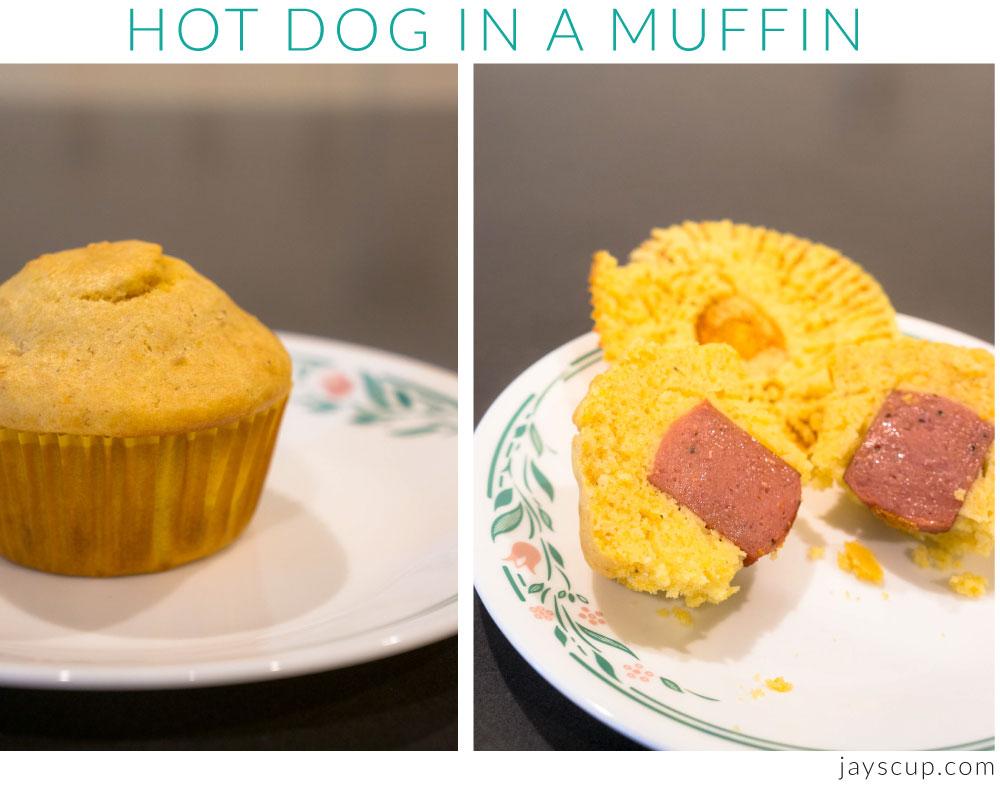 Hot Dog in a Muffin
