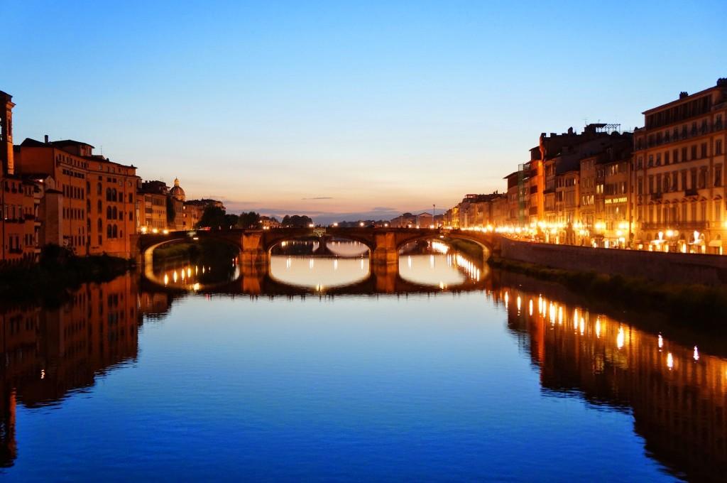 Vecchio Bridge Night