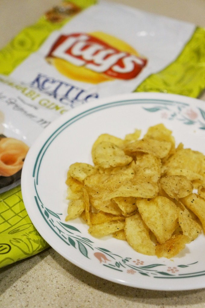 Chips portion