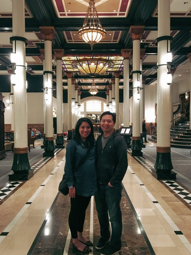 The beautiful Driskill Hotel